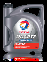 Total  QUARTZ INEO MC3 5W-30, 5л , Масло моторное