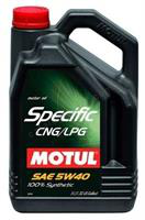 Motul  Specific CNG/LPG 5W-40, 5л , Масло моторное